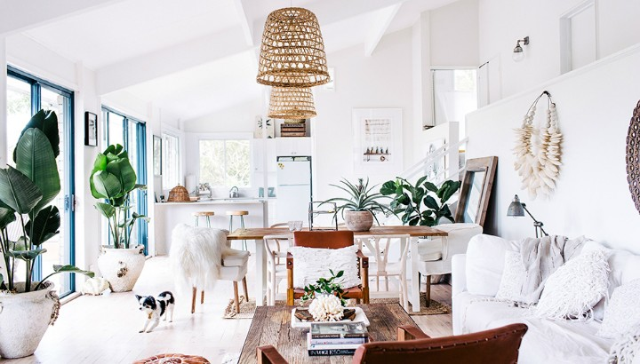 white-bohoo-chic-home