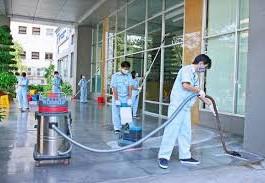 vệ sinh công nghiệp sau xây dựng