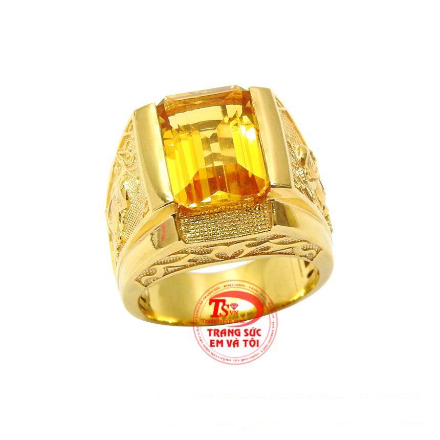 Chiếc nhẫn này sẽ là sự lựa chọn hoàn hảo dành cho những người mang mệnh Thổ và Kim.